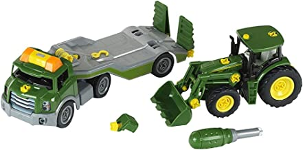 Theo Klein - Transporter with John Deere Tractor Premium Toys for Kids Ages 3 Years & Up