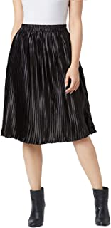 The Dry State Women Black Coloured Pleated Skirt G505-$P