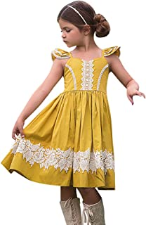 3a7b941d360e5 Amazon.fr   Robe Dentelle Blanche - Fille   Vêtements
