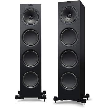 KEF q950 Floorstanding Speaker (各、サテンブラック) Q950