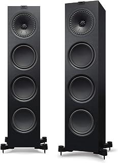 KEF Floorstanding Speaker (Q950, Single Speaker, Black)