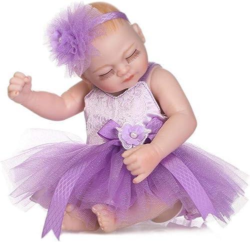 venta caliente en línea Hongge Reborn Baby Doll,Regalo de cumpleaños de de de muñeca Realista Juguetes realistas Princesa Juguetes Niños 26cm  100% autentico