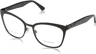 JC 189 NS8 Black Glitter Metal Square Eyeglasses 53mm
