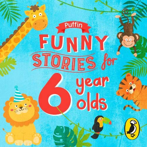 Puffin Funny Stories for 6 Year Olds cover art
