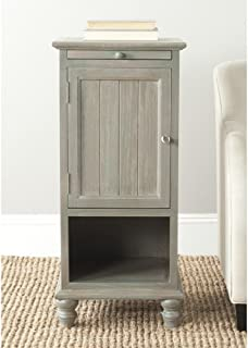 Safavieh American Homes Collection Jezabel End Table, French Grey