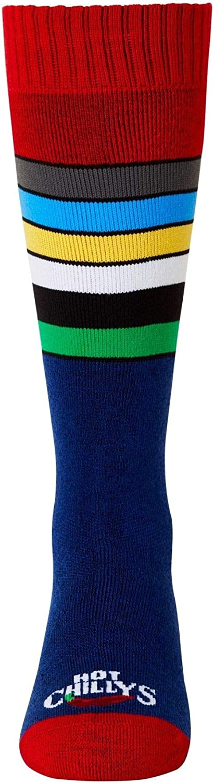 Hot Chillys Youth Retro Stripe Mid Volume Sock
