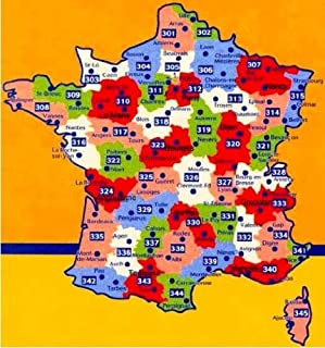 Michelin Local Map Number 301: Pas de Calais; Somme; Arras, Amiens (France) and Surrounding Area, Scale 1cm: 1.5 km