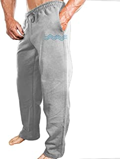 Jogger Pants Three Waves Long Extended Water OcEAN Sports Pants With Firm Harmless-to-body Cloth For Training Bodybuilding Mens Clothes