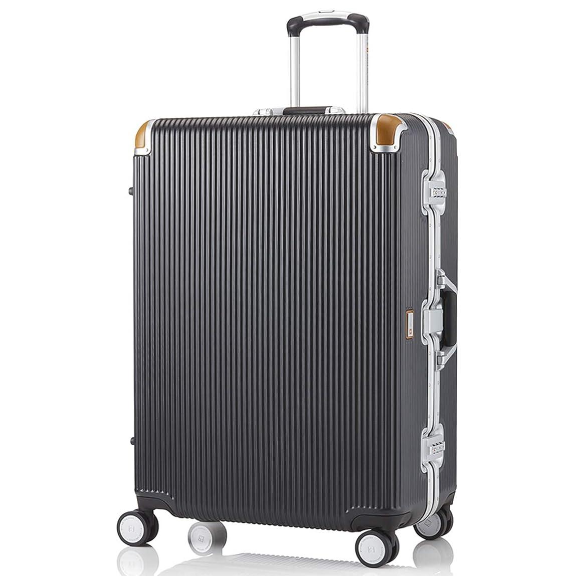 ネコ副産物スキャンダル[スイスミリタリー] Premium プレミアム スーツケース Type C アルミフレームタイプ 天然皮革プロテクター TSAロック ウレタン素材ダブルキャスター 軽量 傷防止 一年保証 [SWISS MILITARY]