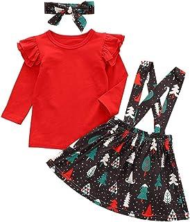 Aoliandatong Toddler Girls Ruffle Sleeve Romper Sunflower Skirt Headband Outfit Floral Dress Outfit