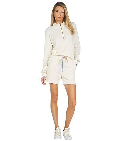 Michael Lauren David 1/2 Zip French Terry Pullover Sweatshirt