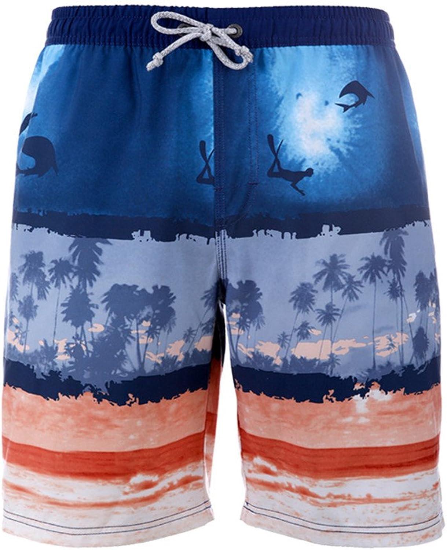 Xiaoxiaozhang Herren Strandhosen, Badehosen, schnell trocknende, lockere Shorts, Badeshorts, Badeshorts, XXL B07F6Y2R5M  Förderung