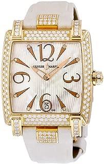 Ulysse Nardin Caprice Ladies 18K Rose Gold Diamonds Automatic Watch 136-91AC/691