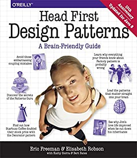 Head First Design Patterns (A Brain Friendly Guide) (0596007124)   Amazon price tracker / tracking, Amazon price history charts, Amazon price watches, Amazon price drop alerts