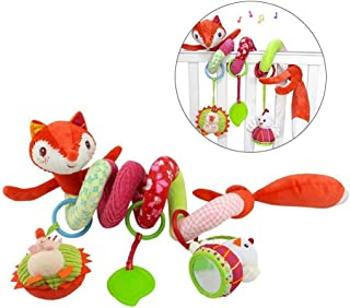Gspirit Espiral Paseante Juguetes, Espiral Felpa Colgando Juguete por Bebé Educativo Juguete (B)