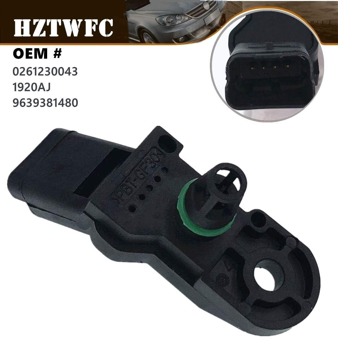 HZTWFC Intake Ultra-Cheap Deals Air Pressure Sensor Citroen Compatible for New popularity MAP Ber