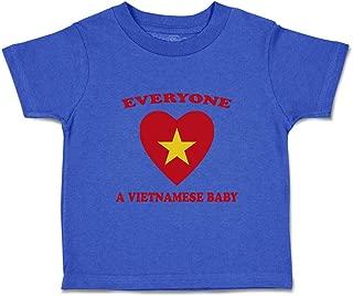 Custom Baby & Toddler T-Shirt Everyone Loves Vietnamese Cotton Boy Girl Clothes