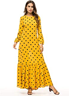 Abaya Maxi Abito Jilbab jellaba jabador Jalabiya sera abito da sera vestito velluto taglia XL