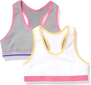 Amazon Essentials Girl's 2-Pack Active Sports Bra