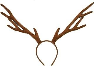 Timoo Reindeer Antlers Headband, Antlers Headband for Halloween Christmas and Easter Party