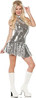 Dance Fever Disco 1970's Women Adult Costume