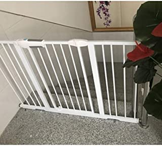 Telescopic Fence Baby Gates for Stairs Fence Safety Gate Pet Isolation Door Pressure Mount Dual Lock Self Closing