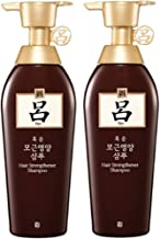[Amorepacific Ryo] Hair Strengthener Shampoo 400ml X 2/strengthen Hair Root+ Volumize Hair/hair Root Volume Enhancement/fermented Pickled Soybean Ingredient Enhances Hairroot and Volumizes Hair. [2015year New]
