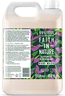 Faith In Nature Hand Wash Lavender and Geranium 5litre