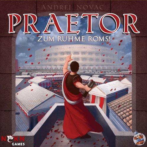 Asmodee HE575 - Prätor - Zum Ruhme Roms, Strategiespiel