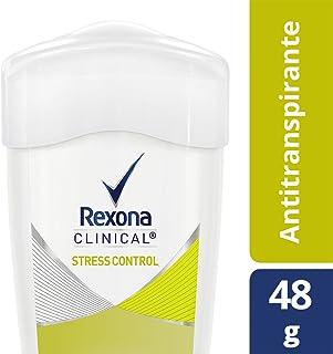Antitranspirante Rexona Clinical Stress Control en crema para dama 48 g