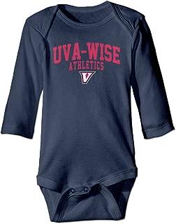 Kid Baby University Of Virginia's College At Wise UVa-Wise Logo Romper Jumpsuit