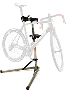 CyclingDeal Home Portable Bicycle Mechanics Workstand - for Mountain Bikes and Road Bikes Maintenance