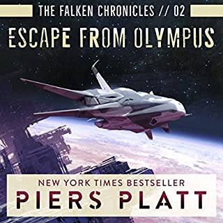 Escape from Olympus audiobook cover art