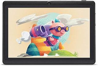 "Haehne 7"" Tablet PC, Google Android 9.0 GMS HD Tablet, 1GB RAM 16GB ROM Quad Core, Cámaras Duales, WiFi, Bluetooth, Negro"