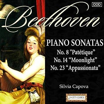 "Beethoven: Piano Sonatas Nos. 8 ""Patétique"", 14 ""Moonlight"" and 23 ""Appassionata"""