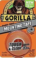 ゴリラ(Gorilla) 超強力両面テープ 25mm幅x1.5m (透明) [並行輸入品]
