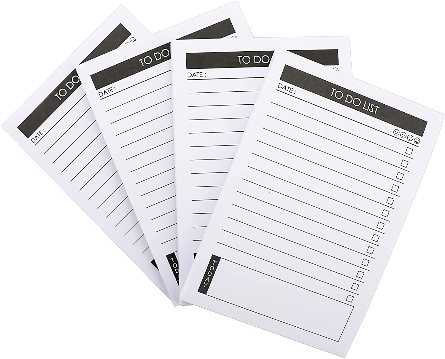 SAVITA 4 Pack To Same day shipping Do List sold out Notepads Daily Vertical C Index Planner