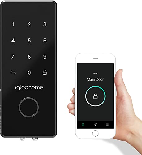 popular Igloohome Deadbolt 2S Digital Smart Lock, online sale Keyless Entry, Electronic Keypad, Airbnb Sync - Remotely Generate Bluetooth-Keys/Access Codes for Single outlet online sale Use/Recurring Visits/Exact Date/Time Without Internet outlet online sale