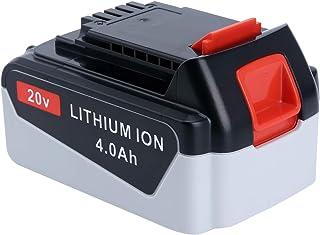 Epowon LBXR20 - Batería de repuesto de litio para BLACK+DECKER MAX LB20 LBX20 LBXR2020-OPE LB2X4020 LB2X4020-OPE (20 V, 4,0 Ah)