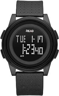 Digital Sport Watch Outdoor Waterproof Electronic Wristwatch with Alarm, Stopwatch, Calendar, LED Display, Shockproof, Digital Watches for Boys Teenagers Junior Girls Ladies