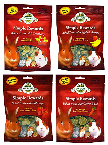 Oxbow Simple Rewards All Natural Oven Baked Treats...