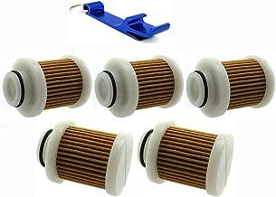 TC-Motor 5pcs Aftermarket Gas Fuel Filter For HP 4-Stroke For Yamaha Outboard Motors F40A F50 F60 F70 F75 F90 T50 T60 F115 6D8-WS24A-00-00 6D8-24563-00-00