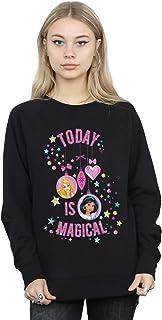 Disney Women's Princess Today Is Magical Sweatshirt Black Medium