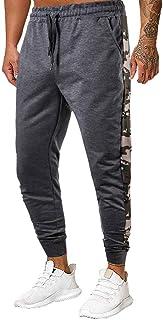 Stoota Men's Regular Fit Flat Front Pants, Outdoor Lightweight Cargo Pant Elastic Waist Casual Work Pant