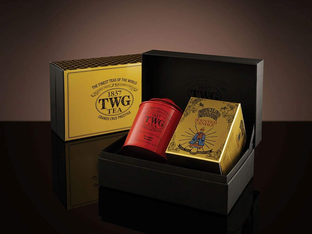 TWG Tea & TWG Candle Premium MIRACLE Tea Gift Set