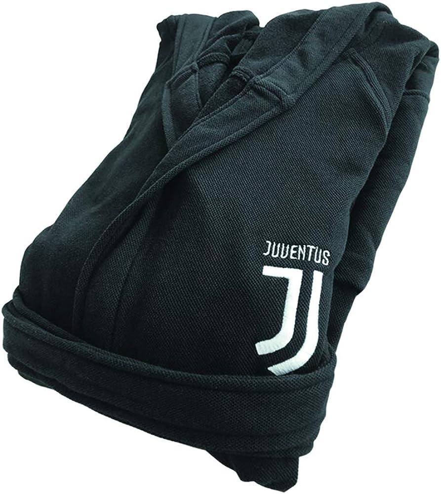 Juventus fc, accappatoio premium,taglia m,100% cotone 9639 070 2131