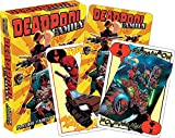 """Image of AQUARIUS 52463 Marvel Deadpool Family Playing Cards, Multi-Colored, 3"""""""