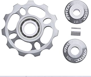 Vbestlife 11T Jockey Wheel Rear Derailleur Pulley with Ceramic Bearing for Mountain Bike Road Bicycle Replacement Parts