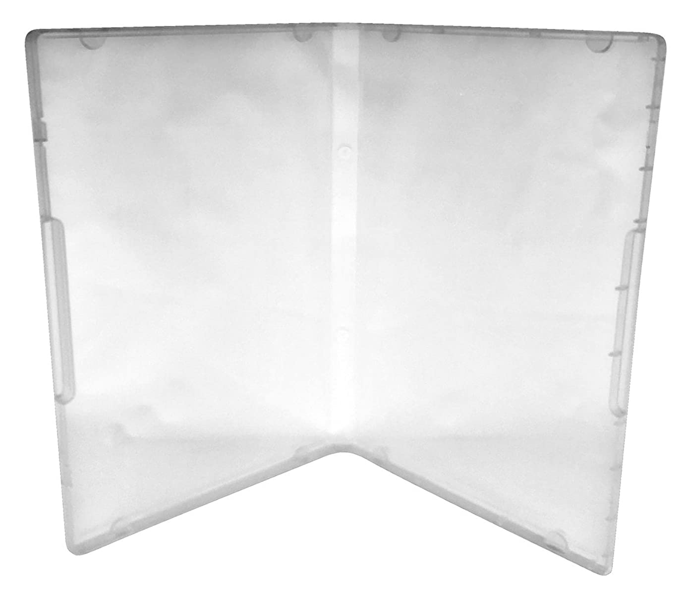 (10) CheckOutStore Plastic Storage Cases for Rubber Stamps (Clear / Spine: 14 mm / 8 Tabs) zcw4979626