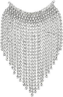 Broches de borla con sonrisa de diamantes de imitación completos para mujer,broche de fiesta de oficina de banquete de ...